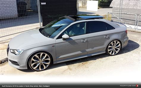 Nardo Grey Audi A3 Sedan Auto Pinterest Audi a3, Cars and Sedans