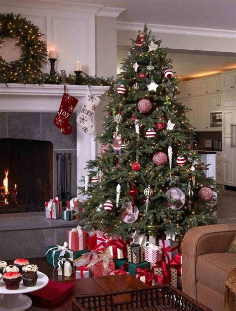 fir christmas tree ideas fraser fir with a peppermint twist tree decorating ideas