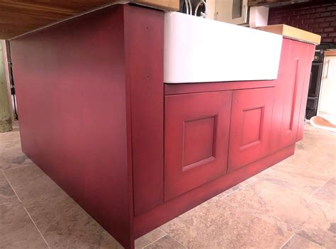 hand painted kitchen islands hand painted kitchen island with paint effect calderdale