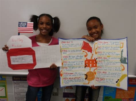 biography ideas for 4th graders biography timeline projects mrs richardson s 4th grade