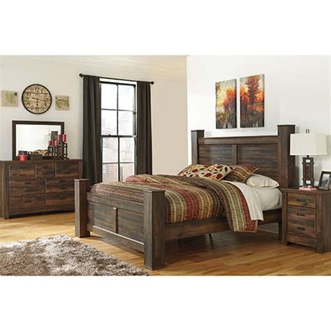 rent   quinden  piece king bedroom set