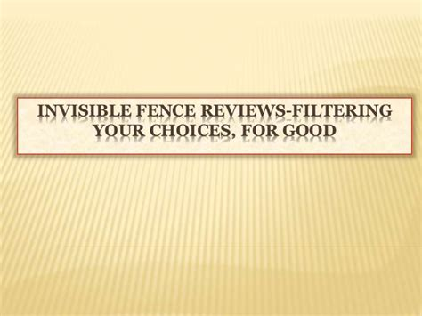 underground fence reviews invisible fence reviews filtering your choices for