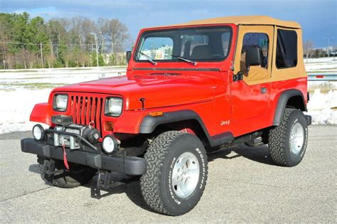 car owners manuals for sale 1994 jeep wrangler parental controls 1994 jeep wrangler yj 128k manual new top bfgs tj upgrades nice jeep for sale