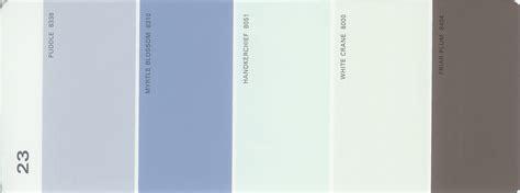martha stewart paint 5 color palette card 23