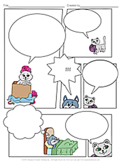 comic strip free esl lesson plan