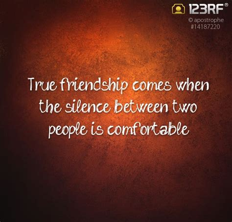 silence between friends quotes quotesgram