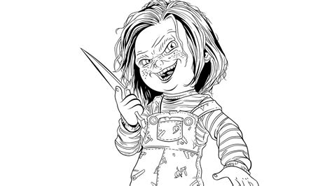 scary porcelain doll coloring page coloring pages