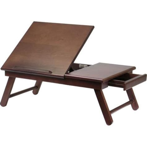 Bed Table For Laptop by Wood Folding Breakfast Bed Tray Tv Laptop Desk Table