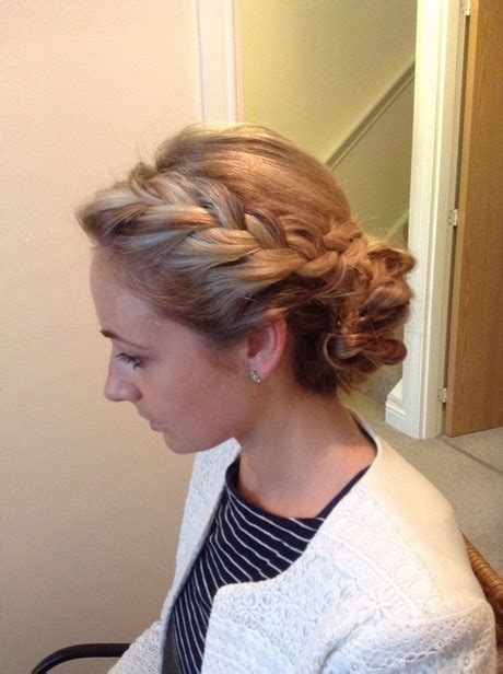 wedding hair up plaits hair plaits