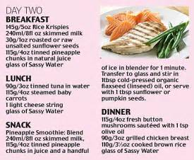 Flat Belly Diet Detox Menu by Banish That Belly How To Get A Flat Tummy In Four Days
