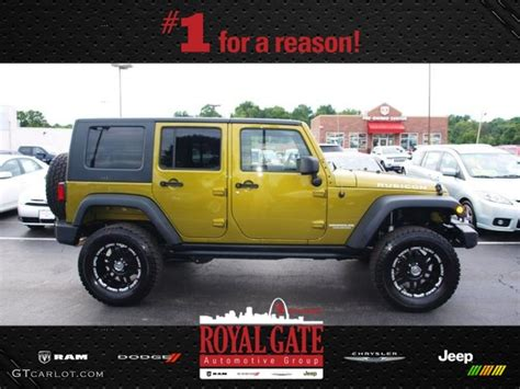 rescue green jeep rubicon 2010 rescue green metallic jeep wrangler unlimited rubicon