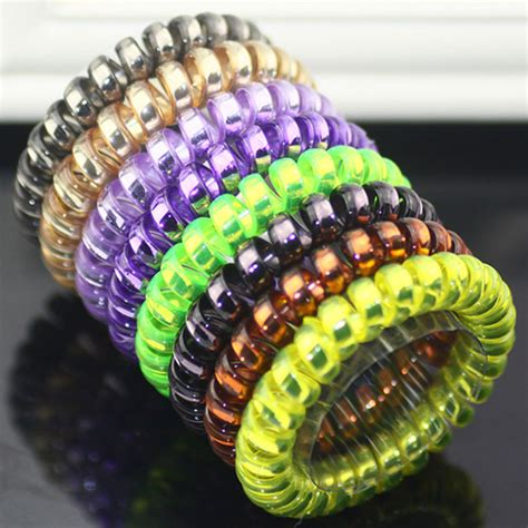 Hairhoop Telephone Wire big size thick telephone wire hair bands fashion