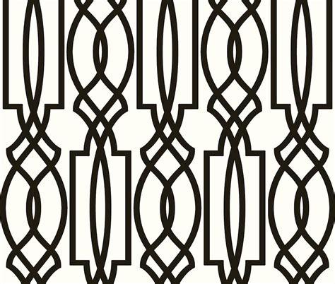 black and white trellis wallpaper wallpaper designer black on off white imperial trellis