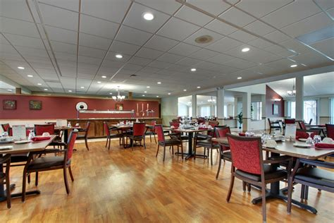 Assisted Living Dining Room by Bria Health Services