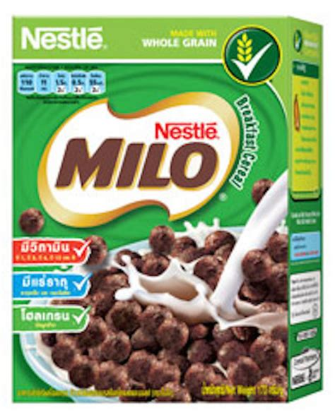 Puff Milo Azhima 1 what cereal looks like around the world