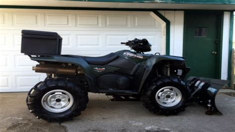 Suzuki King Change Weekly Used Atv Deal King With Plow Atvconnection