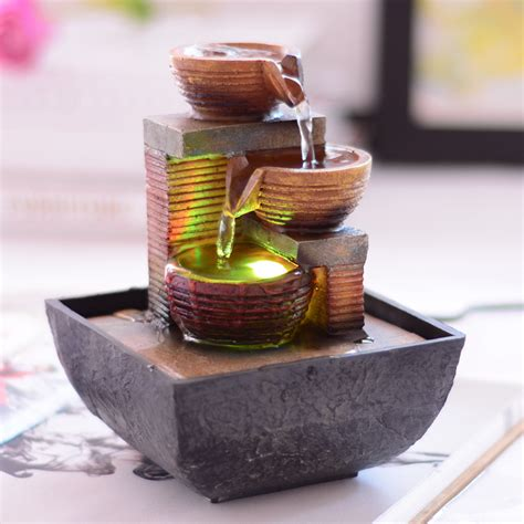 fountain for home decoration fengshui water fountain home decoration new year business
