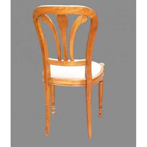 chaises louis philippe chaise louis philippe n 176 2 en h 234 tre et tissu meubles de