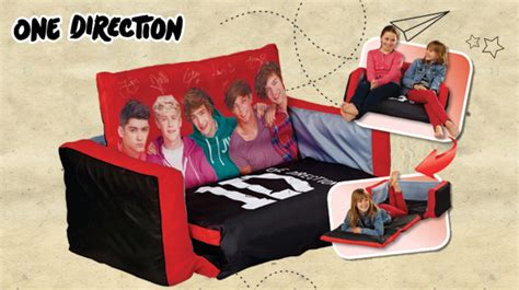 One Direction Flip Out Sofa by Smyths Toys Hq Get Set For One Direction Tour With 20 One Direction Milled