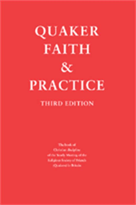 the faith in practice books book of discipline quaker
