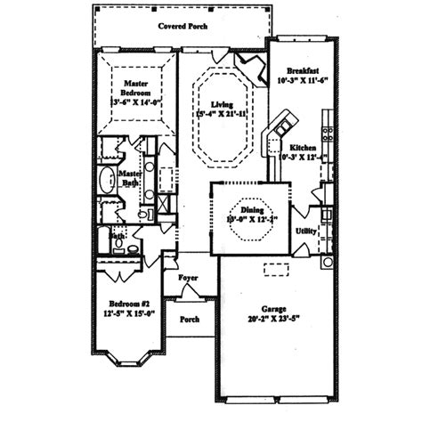 Narrow Ranch House Plans by Hazenmore Narrow Lot Ranch Home Plan 024d 0155 House