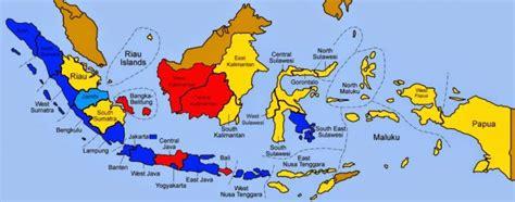 daerah teritorial adalah jumlah provinsi di indonesia lengkap beserta gambar dan