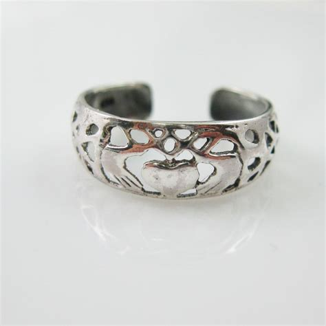 925 sterling silver toe ring and toe ring