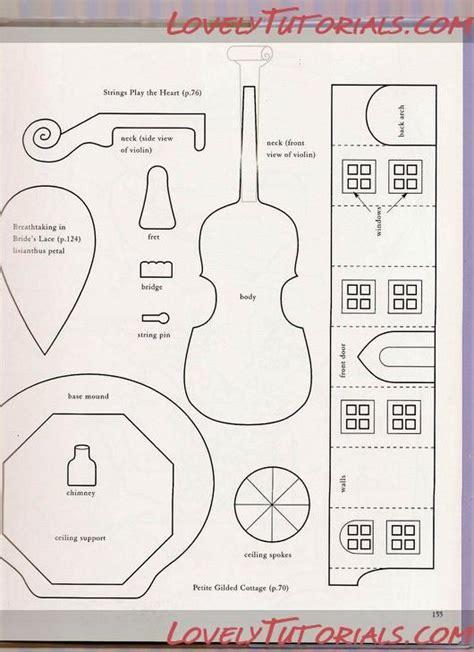 мк скрипка из мастики fondant gumpaste violin tutorial