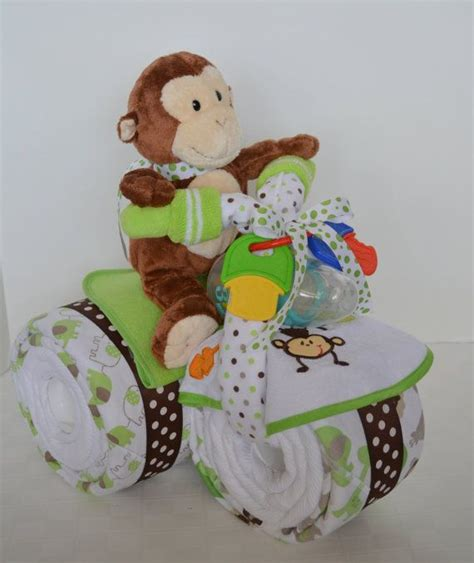 motorcycle cake baby shower baby cake jungle