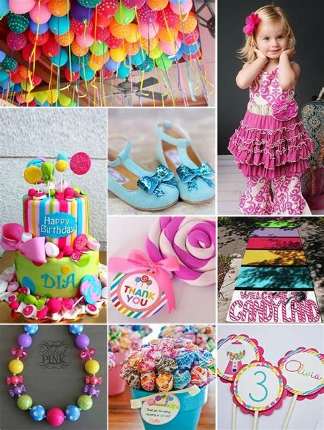 candyland crafts for best 25 ideas on birthday