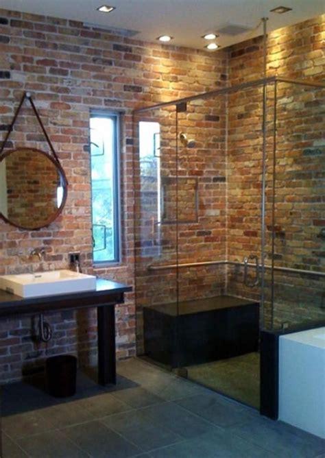 brick wall tiles bathroom 25 best ideas about brick bathroom on pinterest brick