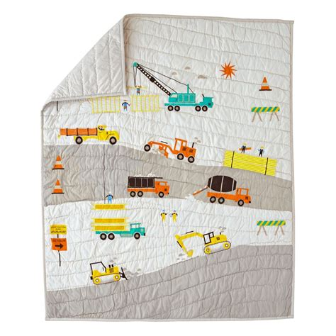 Ll Bean Duvet Covers Construction Baby Quilt The Land Of Nod