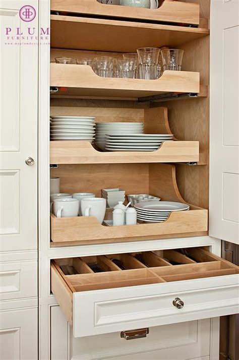 Kitchen Storage Cabinets With Drawers Pull Out Shelves Traditional Kitchen Mcgill Design