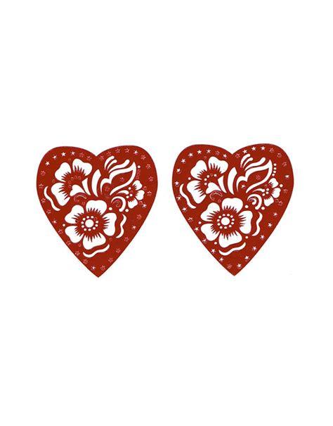 heart henna stencils tattoos hzs 3 oriental style