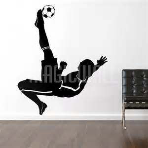 wall decals soccer football player sports magic wall soccer goalie wall decal sticker sport murals trendy