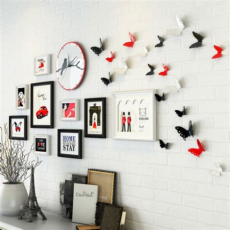 home decor photo frames home decor modern collage photo frame set cheap photo