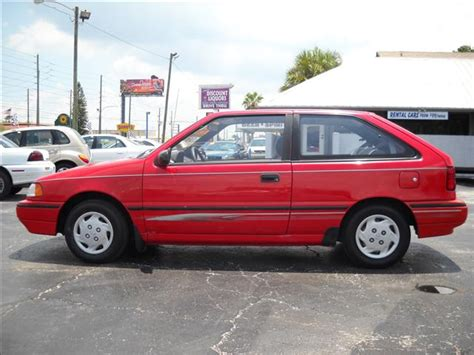 blue book value used cars 1992 hyundai excel head up display 1993 hyundai excel red 200 interior and exterior images