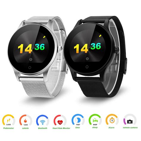 android pedometer touch screen bluetooth smart rate pedometer for android ios iphone 6 ebay