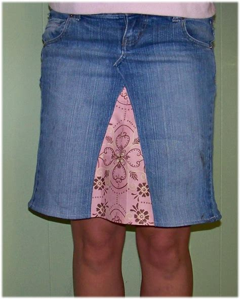 pattern for turning jeans into a skirt sugar spice in the land of balls sticks how to turn