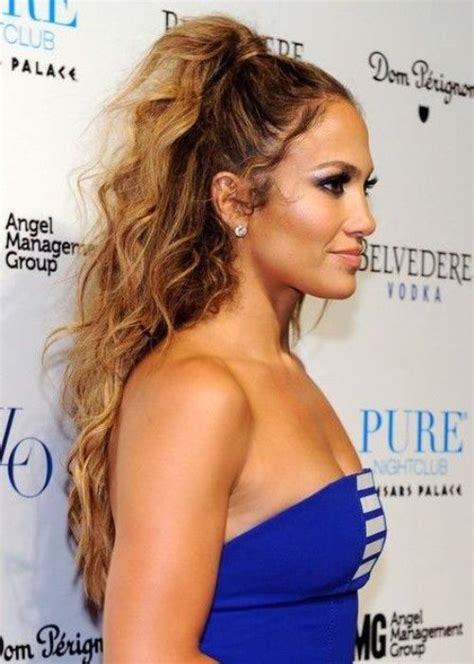j lo ponytail hairstyles high ponytail hairstyle styloss com