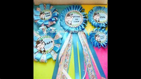 Distintivos Para Baby Shower De Niño by Como Hacer Corsage Para Baby Shower Distintivos De