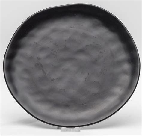 moderne teller kare teller organic black 26 cm essteller real
