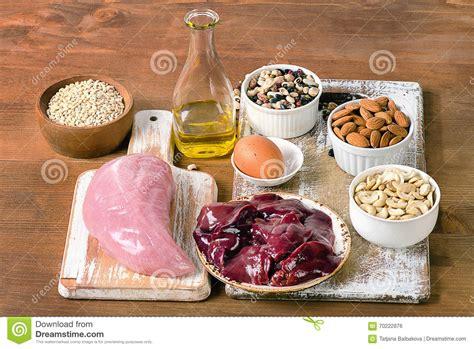 alimenti con selenio alimenti con selenio fotografia stock immagine 70222876