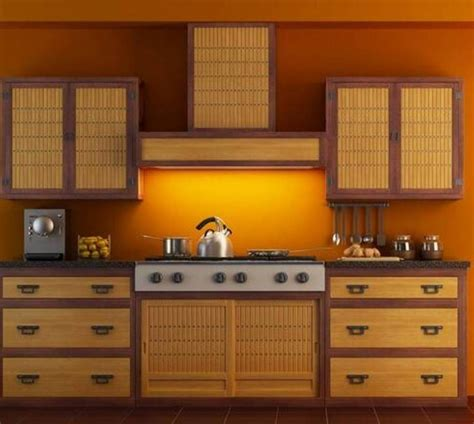 bamboo kitchen cabinets bamboo kitchen cabinets kitchen roomdesign dark veneer