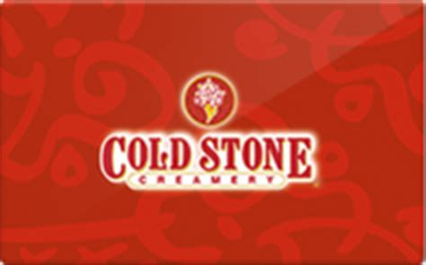 Cold Stone Gift Card Check - sell cold stone creamery gift cards raise