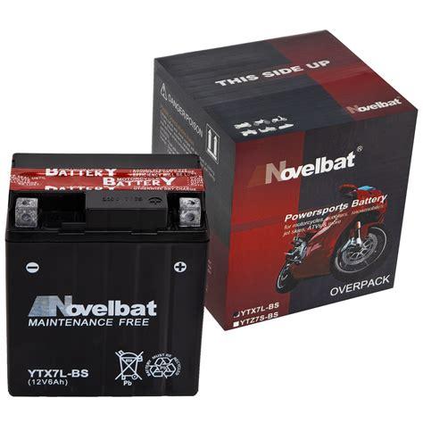 Motorrad Batterie Ytx7l Bs by Agm Motorradbatterie Ytx7l Bs Novelbat 50614lf Ctx7l Bs
