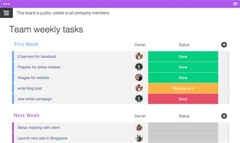 daily task manager template dapulse the intuitive management tool daily task manager