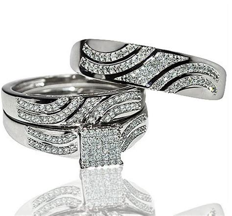 wedding ring sets for him and gold wedding rings sets theweddingpress