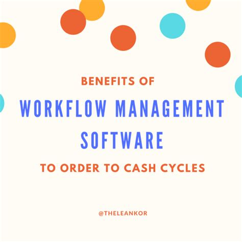 benefits of workflow automation order to archives leankor