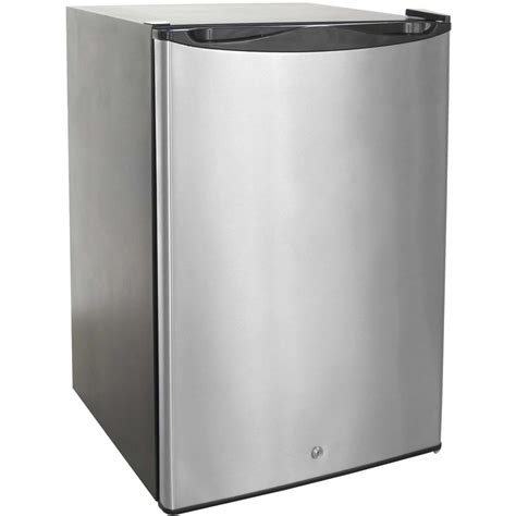 Mini Refrigerator Cabinet With Modern Stainless Compact Cabinet For Small Refrigerator